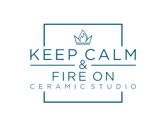 Keep Calm & Fire On Ceramic Studio logo design winner