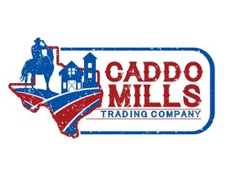 Caddo Mills Trading Company logo design