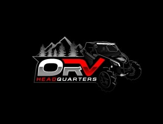 ORV HeadQuarters / ORV HQ logo design