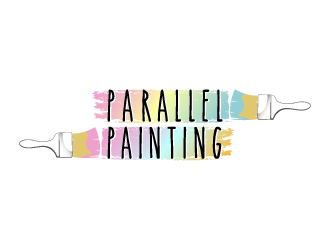Parallel Painting logo design