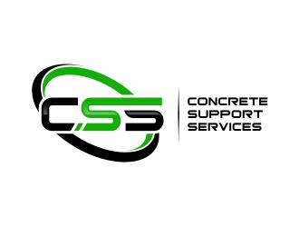 Concrete Support Services (CSS) logo design winner
