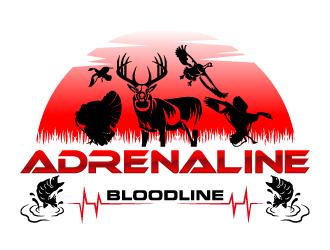 Adrenaline Bloodline  logo design winner