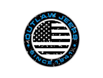 Jeep Outlaws logo design