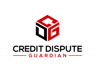 Credit Dispute Guardian logo design