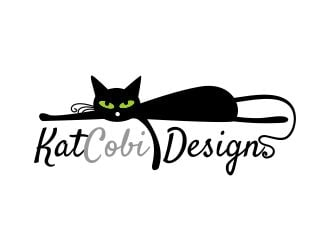 KatCobi Designs logo design