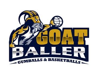 G.O.A.T. Baller logo design by MAXR