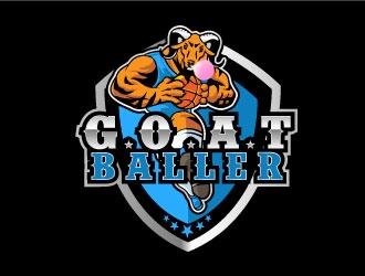 G.O.A.T. Baller logo design by AYATA