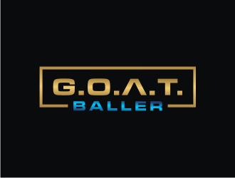 G.O.A.T. Baller logo design by bricton