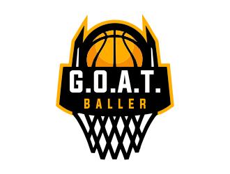 G.O.A.T. Baller logo design by JessicaLopes