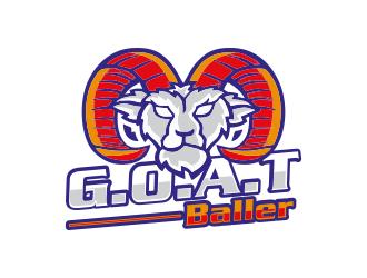 G.O.A.T. Baller logo design by Gwerth
