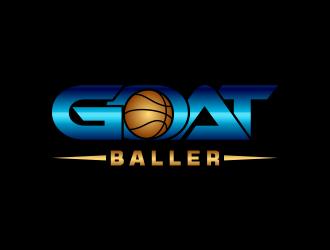 G.O.A.T. Baller logo design by meliodas