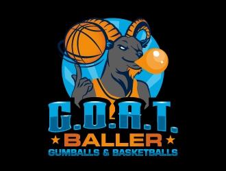 G.O.A.T. Baller logo design by LogOExperT