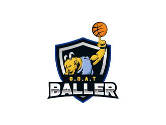 G.O.A.T. Baller logo design by Dawn