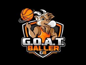 G.O.A.T. Baller logo design