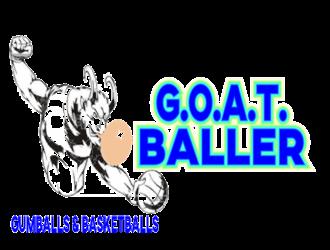 G.O.A.T. Baller logo design by kitaro