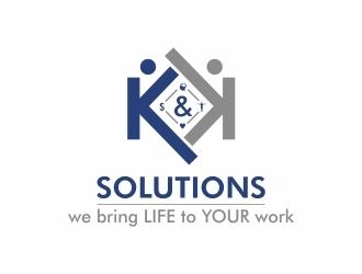 K&K Solutions logo design