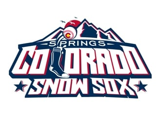 Colorado SnowSox logo design