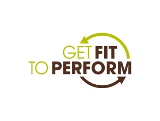 Get Fit To Perform logo design
