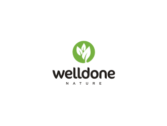 Welldone Nature logo design