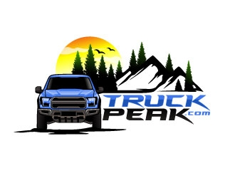 TruckPeak.com  logo design
