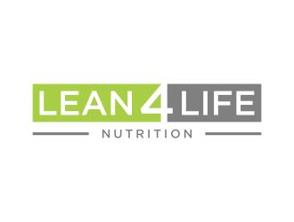 Lean 4 Life Nutrition  logo design