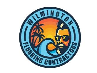 Wilmington Flooring Contractors logo design by XyloParadise