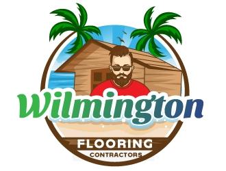 Wilmington Flooring Contractors logo design by Suvendu