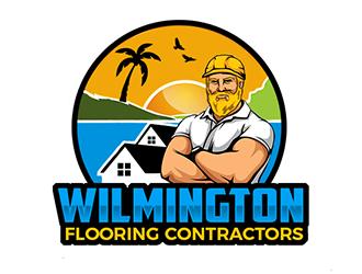 Wilmington Flooring Contractors logo design by Optimus