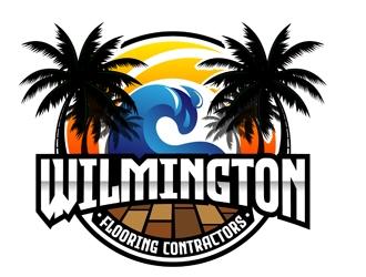 Wilmington Flooring Contractors logo design by DreamLogoDesign