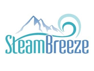 SteamBreeze logo design