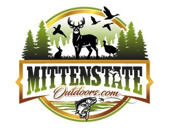 MittenStateOutdoors.com logo design