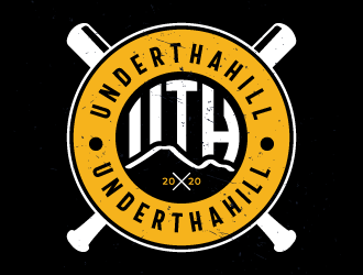 Underthahill  logo design