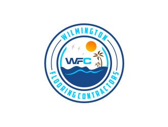 Wilmington Flooring Contractors logo design by bricton