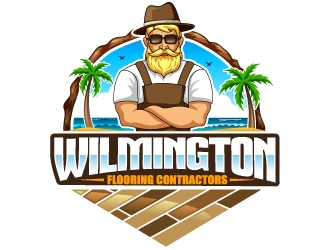Wilmington Flooring Contractors logo design by design_brush