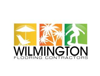 Wilmington Flooring Contractors logo design by AamirKhan