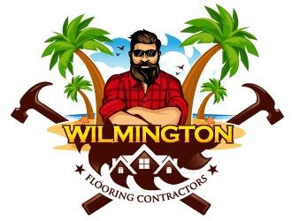 Wilmington Flooring Contractors logo design by dorijo