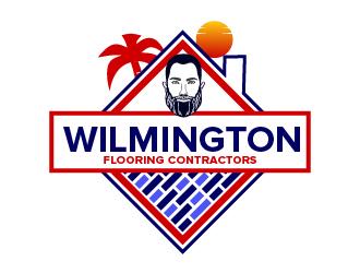 Wilmington Flooring Contractors logo design by czars