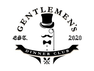 Gentlemens Dinner Club - GDC logo design