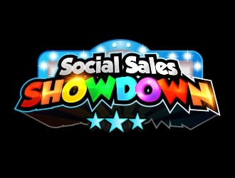 Social Sales SHOWDOWN logo design