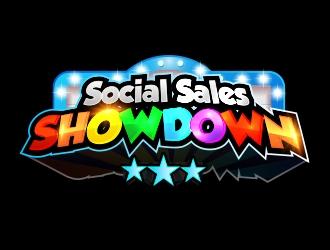 Social Sales SHOWDOWN logo design