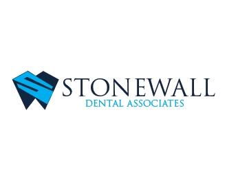stonewall dental associates  logo design