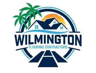Wilmington Flooring Contractors logo design by jaize