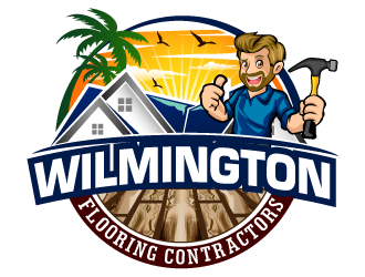 Wilmington Flooring Contractors logo design by THOR