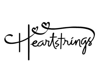 Heartstrings Timeless Sentiments logo design