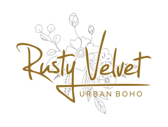 Rusty Velvet logo design