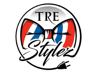 Tre Stylez logo design