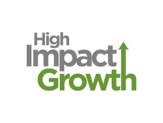 High Impact Growth logo design