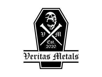 Veritas Metals logo design