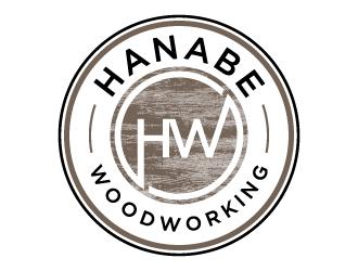 Hanabe Woodworking logo design