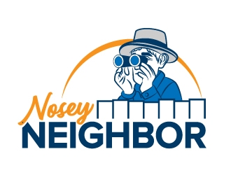 Nosey Neighbors logo design